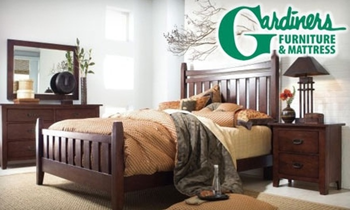 Gardiners Furniture - Multiple Locations: $50 for $200 Worth of Furniture, Mattresses, and Home Accessories at Gardiners Furniture