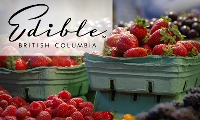Edible British Columbia - Vancouver: $25 for a Granville Island Market Tour from Edible British Columbia ($51 Value)