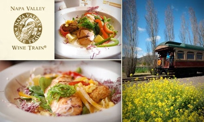 Napa Valley Wine Train - Cental Napa: $99 for Two Gourmet Meals Aboard the Napa Valley Wine Train ($198 Value)