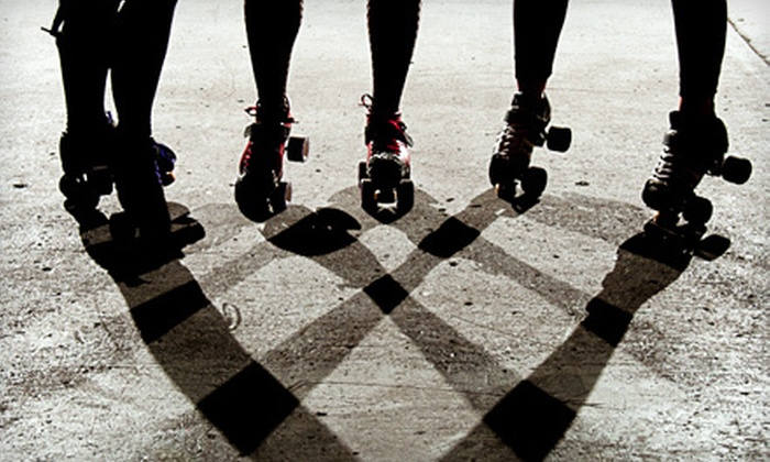 """""""Queen City Massacre"""" presented by Regina's Rockin' Roller Derby - North Central: $7 to See the """"Queen City Massacre"""" Roller Derby Bout at Evraz Place on February 4 at 2 p.m. ($15 Value)"""