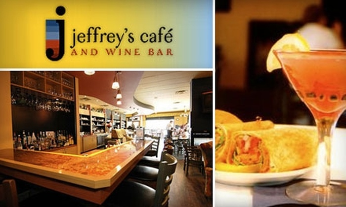 Jeffrey's Cafe & Wine Bar - Crestwood: $10 for $20 Worth of Casual Cuisine and Drinks at Jeffrey's Café & Wine Bar