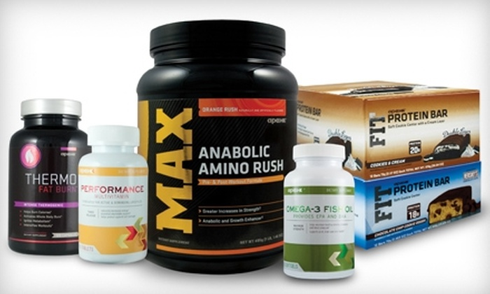 Apex Fitness: $19 for $40 Worth of Nutritional Supplements from Apex Fitness