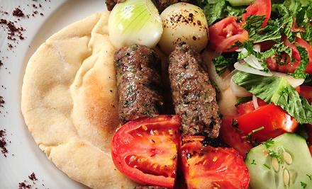 $20 Groupon for Dinner Fare - Ali Baba Mediterranean Cuisine in East Lansing