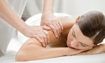 Full-Body Lymphatic Therapy Massage or 60-Minute Deep-Tissue Massage at Body Luminous (50% Off)