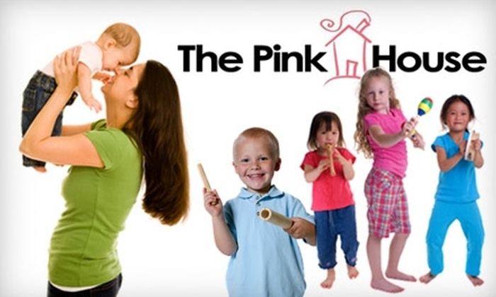 The Pink House - Forest Park: $7 for One 45-Minute Kindermusik Playdate at The Pink House ($15 Value)