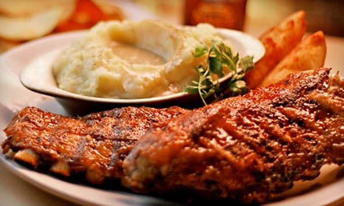 The Fireplace Inn - Near North Side: $20 for $40 Worth of Barbecue and American Comfort Fare at The Fireplace Inn