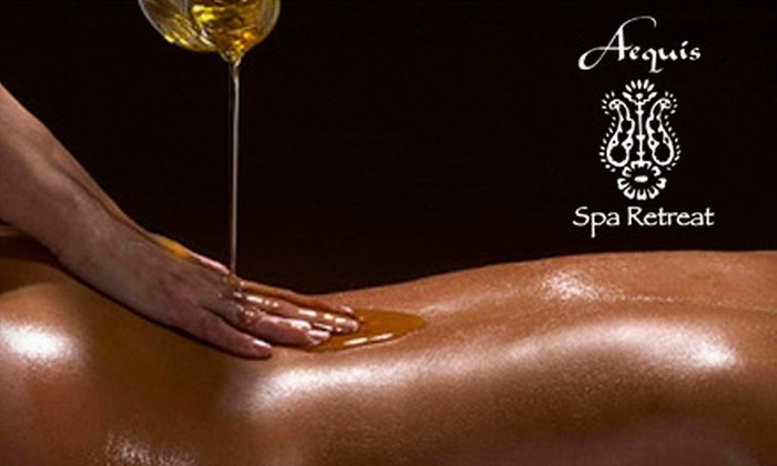 Aequis Spa Retreat - Pearl: $75 for $150 Worth of Spa Services at Aequis Spa Retreat