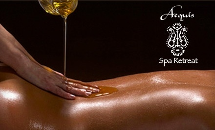 $150 Groupon to Aequis Spa Retreat - Aequis Spa Retreat in Portland