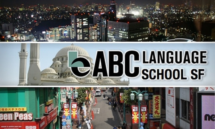 ABC Language School  - Downtown: $135 for a Six-Week Language Course at ABC Language School ($270 Value)