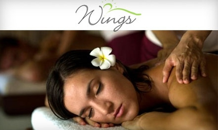 Wings Massage & Bodywork - Randolph: $45 for a 60-Minute Bamboo Fusion Massage at Wings Massage & Bodywork in Randolph ($90 Value)