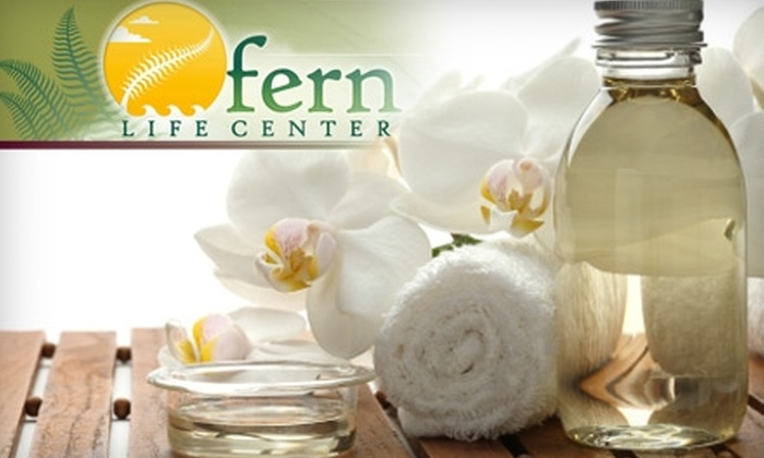 Fern Life Center - Gilman: $62 for 45-Minute Colon-Hydrotherapy Session, Plus Chakra Balancing and Release Treatment, at Fern Life Center in Issaquah ($125 Value)