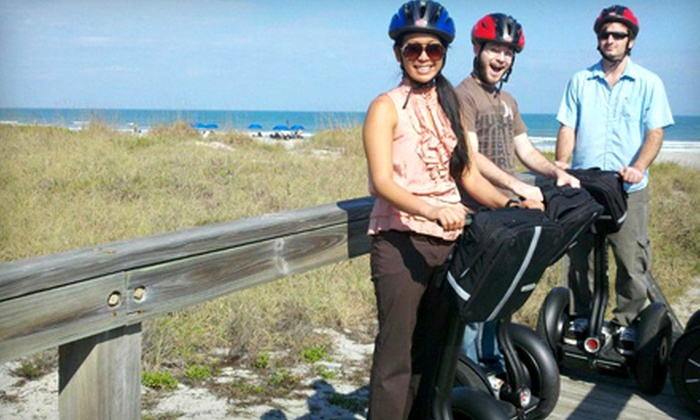 Space Coast Segway Tours - Multiple Locations: $31 for a Segway Tour of Port Canaveral or Cocoa Beach from Space Coast Segway Tours in Cape Canaveral ($65 Value)