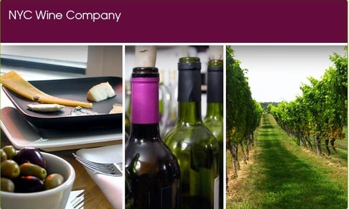 NYC Wine Company - Chelsea: $59 for a Wine Class at NYC Wine Co. ($95 Value)