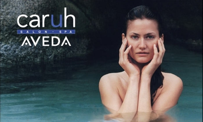 Caruh Salon - Roosevelt: $79 for a 90-Minute Massage or Facial Plus Two Treatment Enhancements at Caruh Salon (Up to $175 Value)