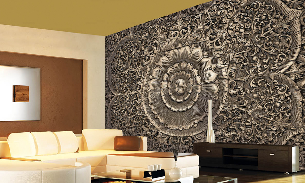 Wall Murals For Living Room India Living Room Ideas