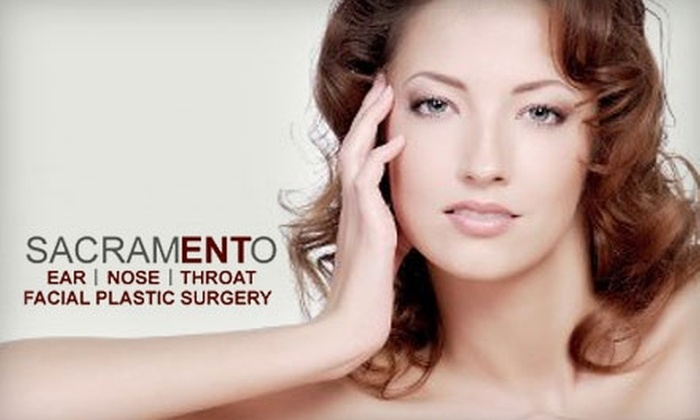 Sacramento Ear, Nose and Throat (SacENT) - Multiple Locations: Choice of Photofacial or Botox Treatments at Sacramento Ear, Nose and Throat (Up to $400 Value)