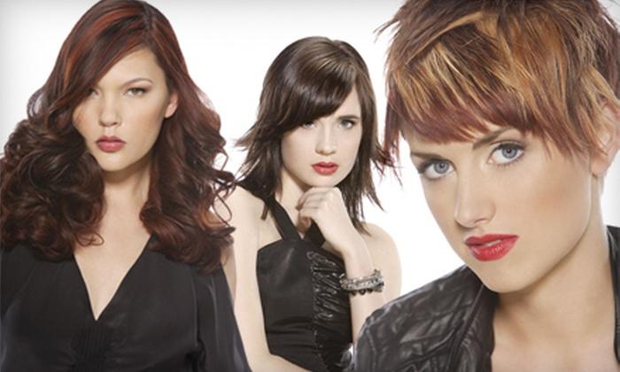 Xenon International Academy - Sunflower: Haircut, Shampoo, and Style or Spa Mani-Pedi at Xenon International Academy