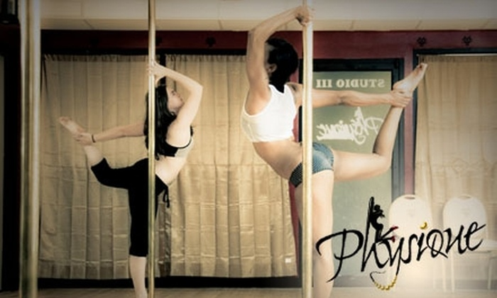 Physique Pole Studio - Pike Creek-Central Kirkwood: $30 for Five Drop-In Classes at Physique Pole Studio