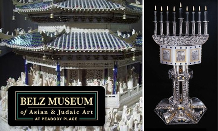 Belz Museum of Asian & Judaic Art - Downtown Medical Center: $20 Admission for Four People Plus Four Collection Catalogs at the Belz Museum of Asian & Judaic Art (Up to $48 Total Value)