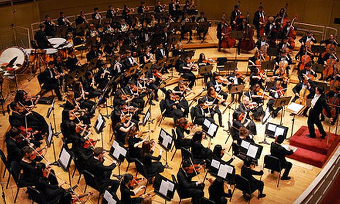 Chicago Youth Symphony Orchestras - Symphony Center, Orchestra Hall: Chicago Youth Symphony Orchestras Concert for Two at Symphony Center on May 13 (Up to 51% Off). Two Options Available.
