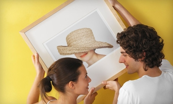 Hampton House Art & Framing - Multiple Locations: $45 for $125 Worth of Custom Framing and Digital Imaging at Hampton House Art & Framing. Two Locations Available.