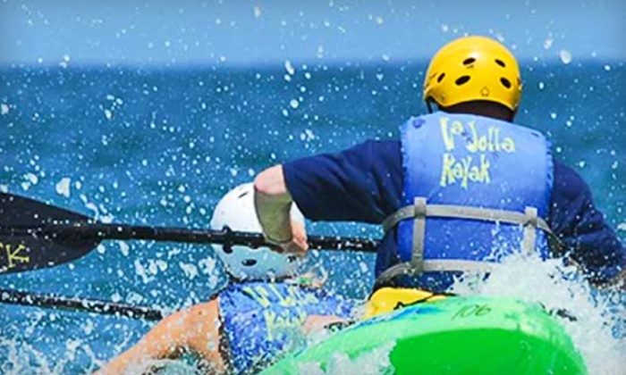 La Jolla Kayak - La Jolla Shores: $39 for a Sea-Cave Kayak Tour for Two from La Jolla Kayak (Up To $85.32 Value)