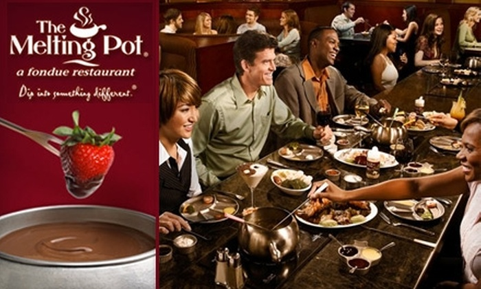 The Melting Pot - Multiple Locations: $20 for $40 Worth of Food and Drinks at The Melting Pot