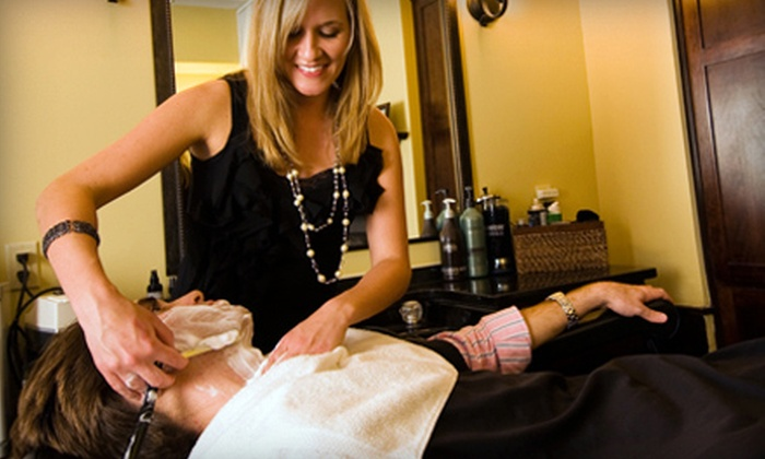 Old South Barber Spa - French Quarter: $32 for an Old-Fashioned Blade Shave and Scalp Massage at Old South Barber Spa ($64 Value)
