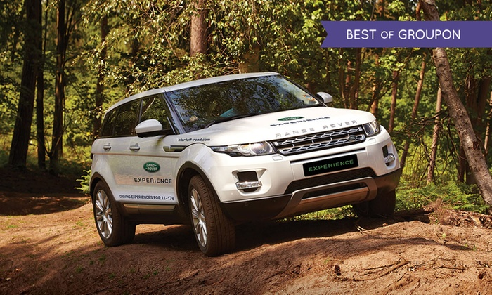 land rover start off road in birmingham groupon. Black Bedroom Furniture Sets. Home Design Ideas