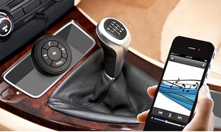 Transmisor audio bluetooth con micro de diseño compacto