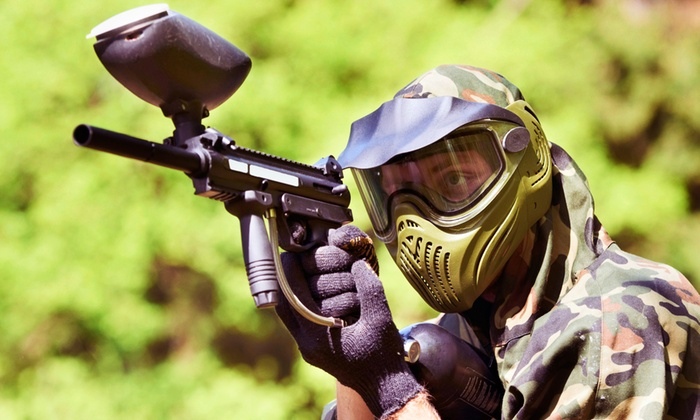 Paintball USA - Multiple Locations: Beginner Ninja or Intermediate Basic-Training Paintball Package One, Two, or Five at Paintball USA (Up to 68% Off)