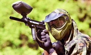 Paintball USA: Beginner Ninja or Intermediate Basic-Training Paintball Package One, Two, or Five at Paintball USA (Up to 68% Off)