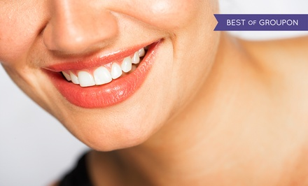 Dental Exam with Options for PerioSciences or At-Home or Zoom Whitening at Pure Dental (Up to 89% Value)