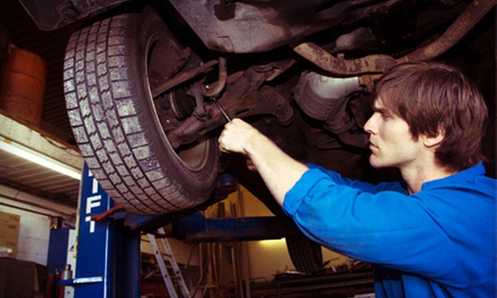 Diagnostics Unlimited - Sunnyvale: One or Three Oil Changes with Tire Rotation, Brake Inspection, and Battery Test at Diagnostics Unlimited (Up to 77% Off)
