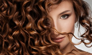 Hair Clippers Salon: Haircut and Facial Waxing with Option of Partial Highlights or Color at Hair Clippers Salon (Up to 51% Off)