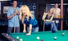 Up to 60% Off at South First Billiards