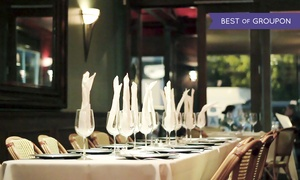Le Petit Bistro: Classic French Cuisine for Dinner for Two or Four at Le Petit Bistro (40% Off)