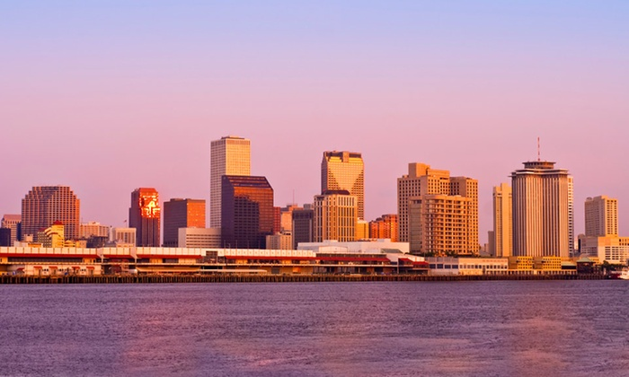 null - New Orleans: Stay with Daily Hot Breakfast and WiFi at The Historic Cotton Exchange in Downtown New Orleans, with Dates into March