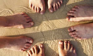 Lifestyle Podiatry: Laser Toenail-Fungus Removal for Both Feet at Lifestyle Podiatry (Up to 83% Off)