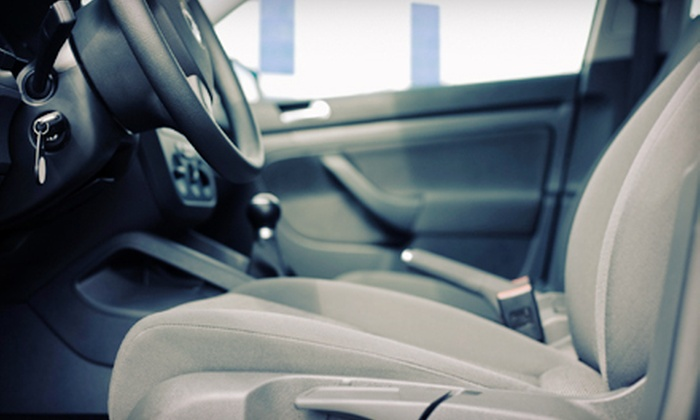 Automotive Carpet & Upholstery Extraction - Goose Island: $39 for Full Carpet and Upholstery Cleaning for One Vehicle at Automotive Carpet & Upholstery Extraction ($100 Value)