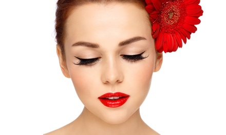 Full-Set or Cat-Eye Eyelash Extensions with a Touch-Up at The Green Bath & Beauty Company (Up to 51% Off )