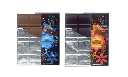 3, 5, or 10 Gourmet Chocolate Bars at Max Brenner Chocolate Restaurant (Up to 49% Off)
