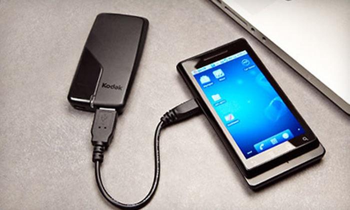 Kodak Essential USB Power Pack: $9 for a Kodak Essential USB Power Pack for iPhones and iPods ($21.95 List Price)