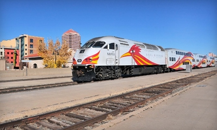 New Mexico Rail Runner Express - Albuquerque Original Townsite: $3 for One All-Zone Day Pass, with Unlimited Travel, for New Mexico Rail Runner Express (Up to a $9 Value)