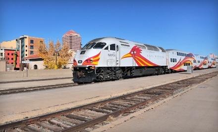 New Mexico Rail Runner Express - New Mexico Rail Runner Express in Albuquerque