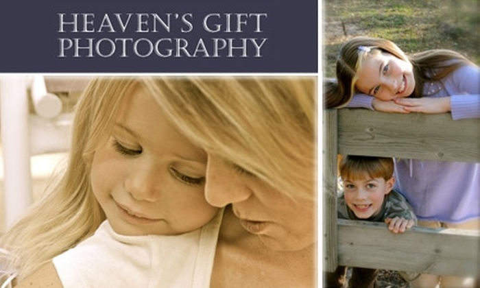 Heaven's Gift Photography - Minneapolis / St Paul: $45 for Photo Session and Framed Canvas Print with Heaven's Gift Photography (Up to $245 Value)