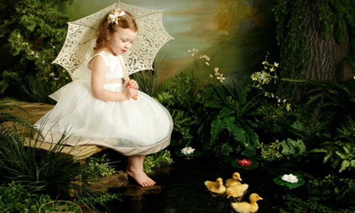 Lasting Expressions - Walnut Grove - Shelby Farms PD: Photo Shoot with Live Ducklings or Photo Package with Digital Images and Print at Lasting Expressions (Up to 85% Off)