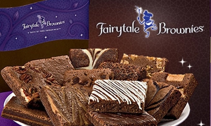 Fairytale Brownies - Providence: $20 for $40 Worth of Gourmet Belgian Chocolate Brownie Gifts from Fairytale Brownies