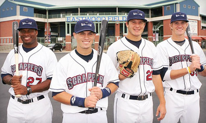 Mahoning Valley Scrappers - Eastwood Field: Mahoning Valley Scrappers Game Package for Two or Four in Niles (Up to 51% Off). Four Options Available.