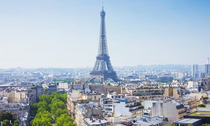 8 day paris and barcelona vacation with airfare from gate for Hotel paris barcelona
